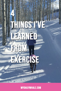 Lessons from Exercise pin